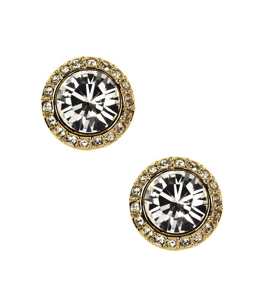 Givenchy Taylor Pave Stud Earrings