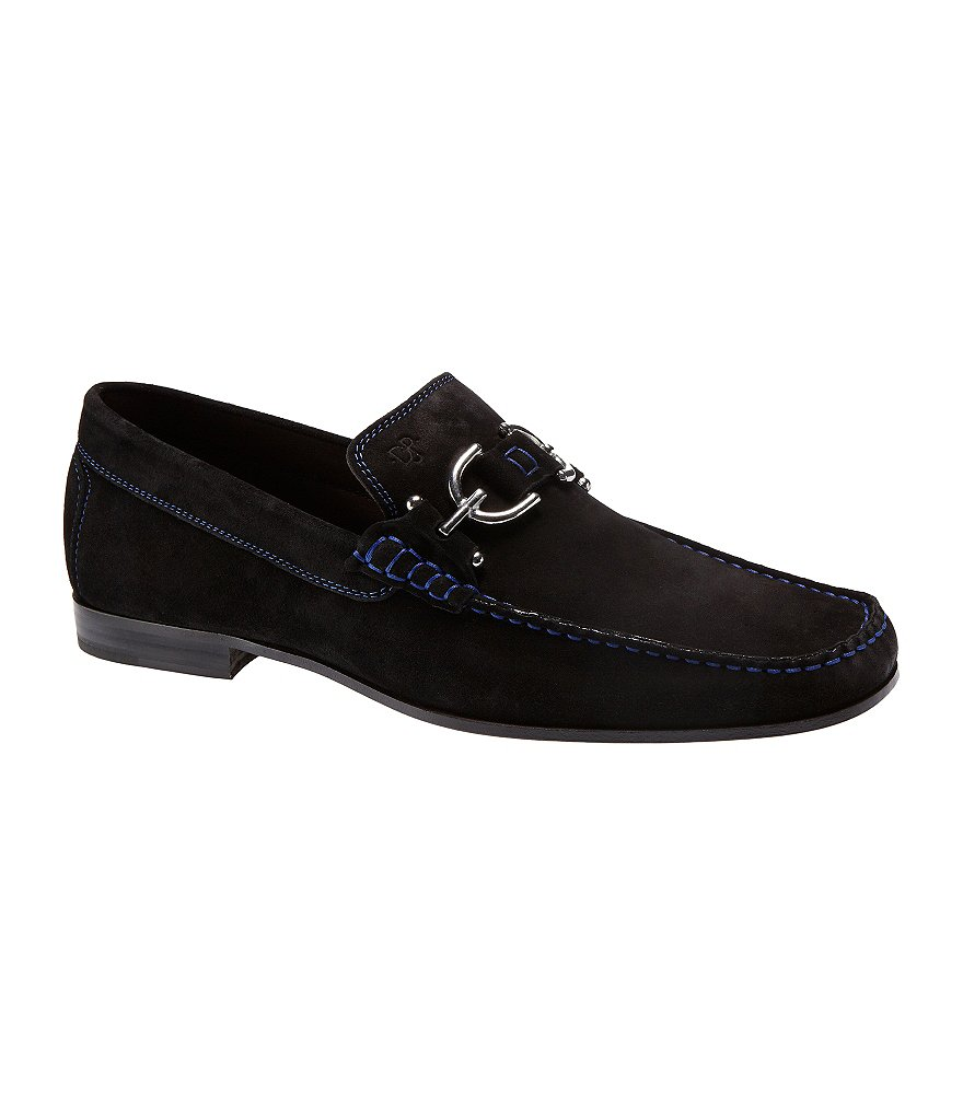 Donald J Pliner Dacio Suede Slip-On Loafers