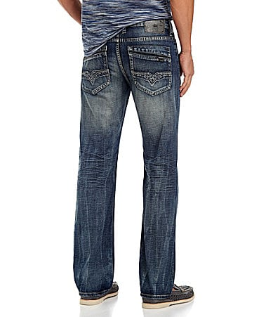 Buffalo David Bitton New Rail Straight-Leg Jeans