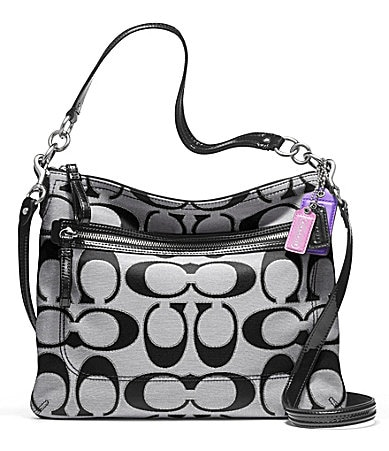 COACH POPPY SIGNATURE METALLIC OUTLINE PERRI HIPPIE