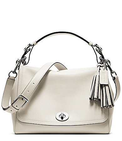 COACH LEGACY LEATHER ROMY TOP HANDLE