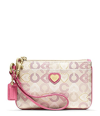 COACH HEART SMALL WRISTLET