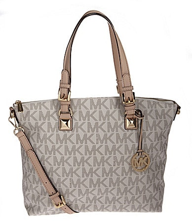MICHAEL Michael Kors Signature Jet Set Multi-Function Satchel Bag
