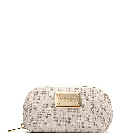 MICHAEL Michael Kors Signature Jet Set Cosmetic Case
