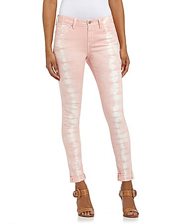 DKNY Jeans Hippy Trail Tie-Dye Jeggings