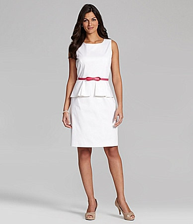 Alex Marie Danielle Peplum Dress
