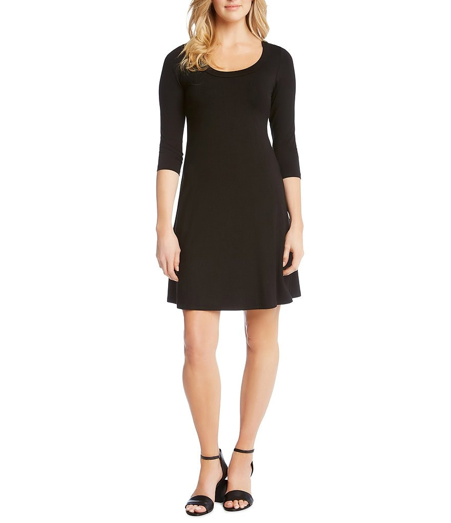 Karen Kane A-Line Knit Dress