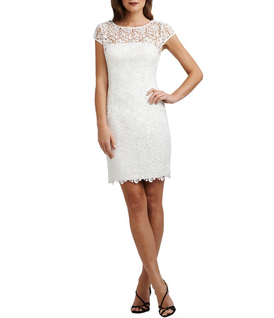 Dillards White Dresses