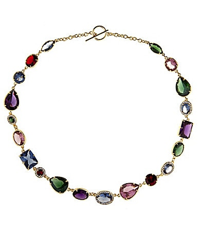 Lauren Ralph Lauren Geometric Jewels Statement Necklace