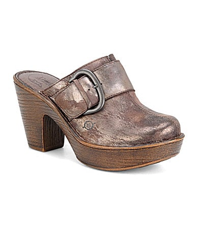 Born Ibra Platform Clogs