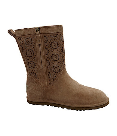 UGG Australia Lo Pro Perforated-Shaft Boots