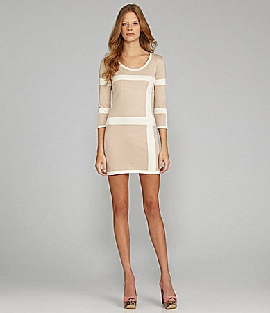 C & C California Mod Colorblock Dress