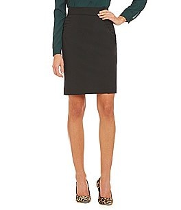 Gianni Bini Pierre Pleated Pencil Skirt Image