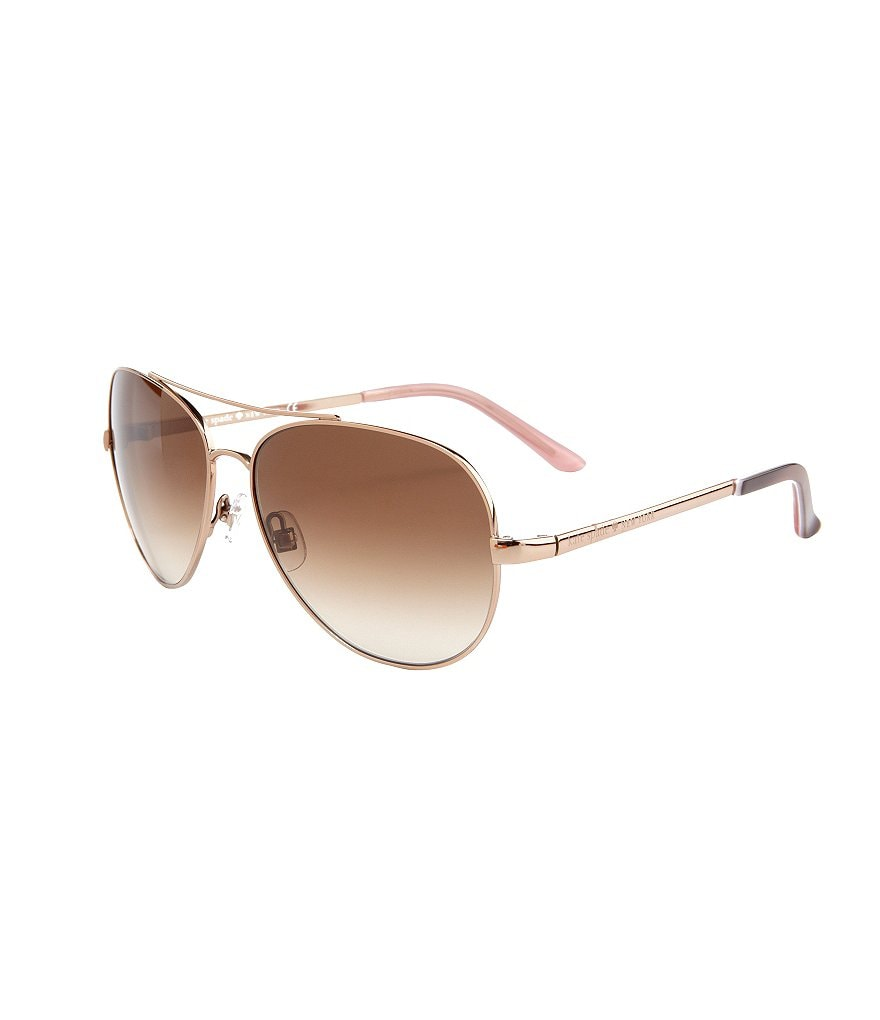 kate spade new york Avalina UVA/UVB Protection Aviator Sunglasses