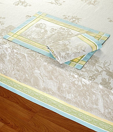 Zina Vasi Easter Jacquard Table Linens | Dillards.