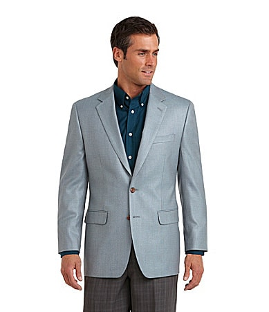 At some point, most men step away from the jeans and tees of youth and toward a well-rounded wardrobe. Wearing sport coats is a good indicator the evolution has begun. Sport coats resemble and fit similarly to suit jackets, but are designed to be worn without matching slacks.