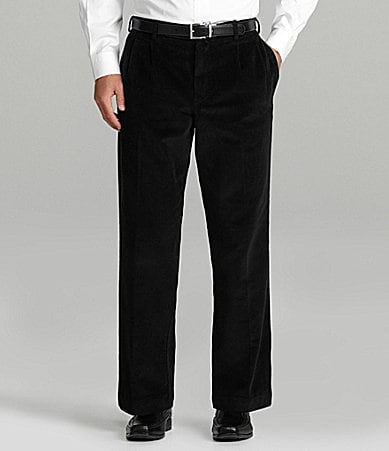 Roundtree & Yorke Casuals Big & Tall Inno-Flex Corduroy Pants