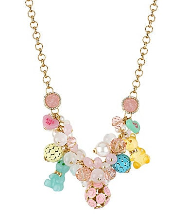 Betsey Johnson Candy Land Gummy Bear Necklace