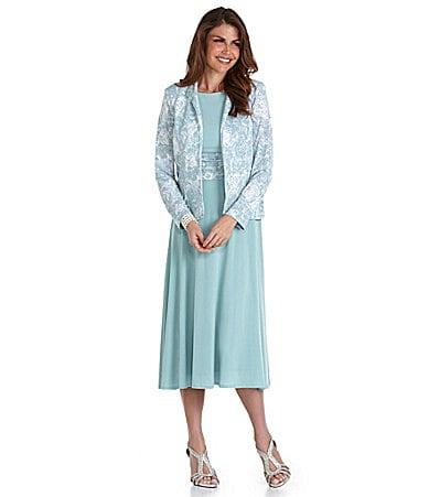 Petite Dress on Jessica Howard Petites Printed Jacket Dress   Dillards Com