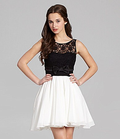 Diamond Ring: Black Dresses For Juniors Dillards