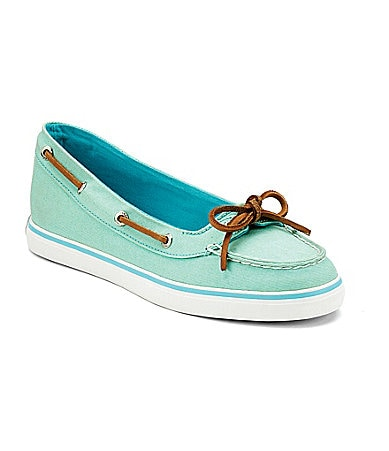 Buy boating apparel - Sperry Top-Sider Women\'s Lola Boat Shoes - Green 6.5M