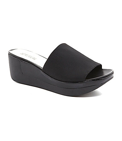 Kenneth Cole Reaction Peep Step Sandals