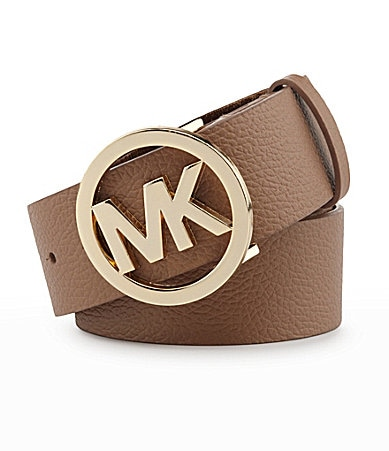 Michael Kors Logo Buckle Belt
