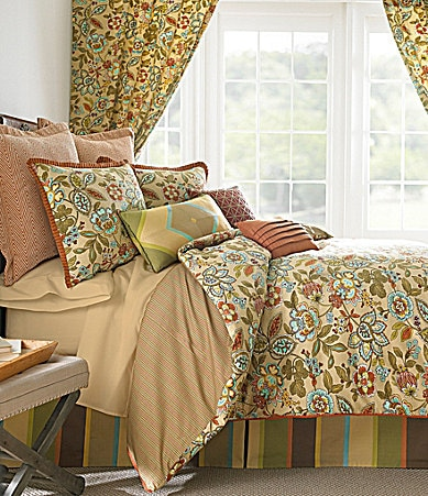 Rose Tree Tuscan Garden Bedding Collection