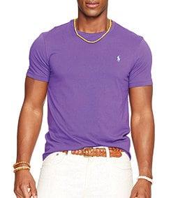 Polo Ralph Lauren Medium-Fit Short-Sleeved Cotton Crewneck Shirt