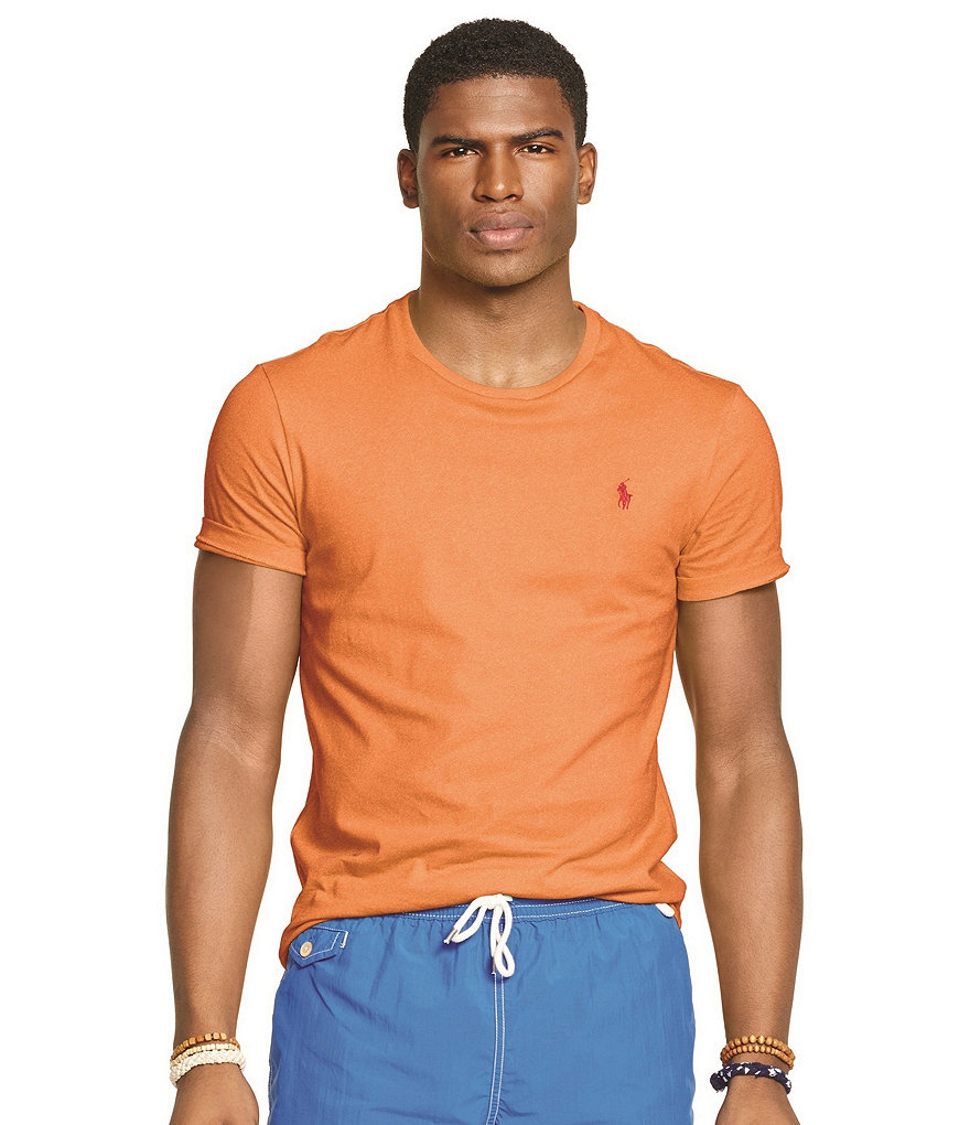 Polo Ralph Lauren Medium-Fit Short-Sleeved Cotton Crewneck Shirt
