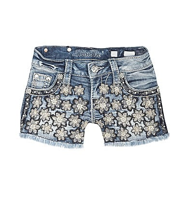 Miss Me Girls 7-16 Cherry Blossom Shorts