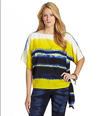 MICHAEL Michael Kors Stripe Top