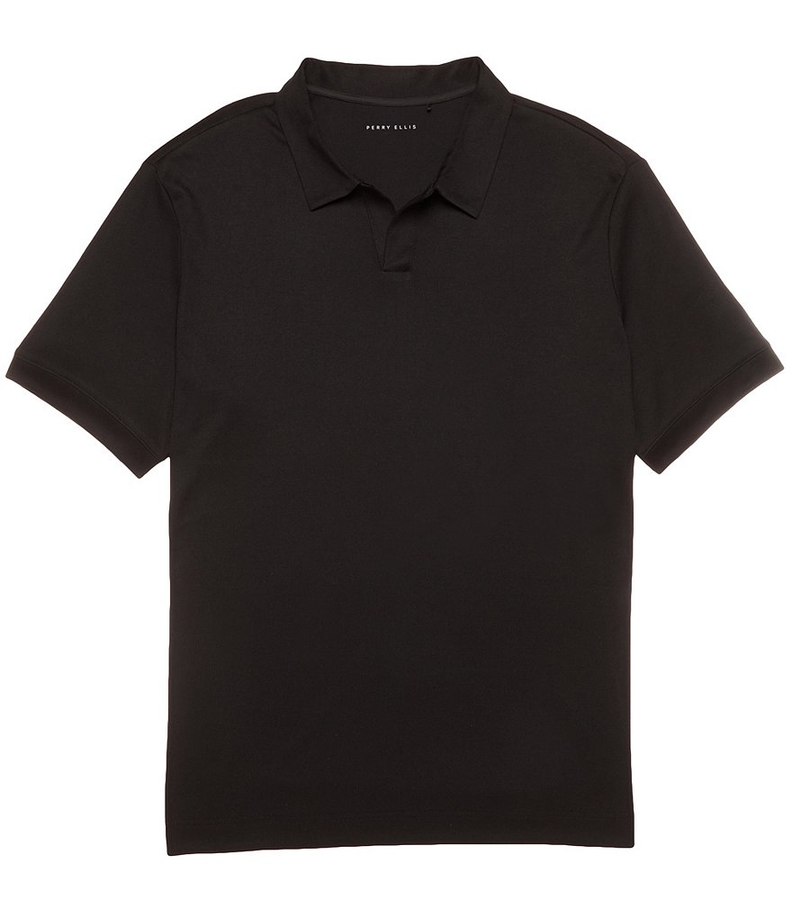 Perry Ellis Big & Tall Open Polo Shirt