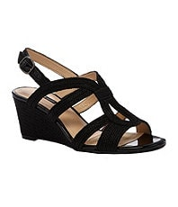 Alex Marie Madeline Wedge Sandals