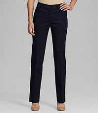 Jones New York Signature Straight Angle-Pocket Pants
