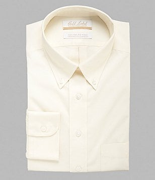 Gold Label Roundtree & Yorke Non-Iron Regular Full-Fit Button-Down Collar Solid Dress Shirt
