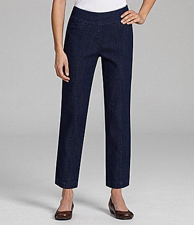 Westbound Woman PARK AVE Denim Ankle Pants