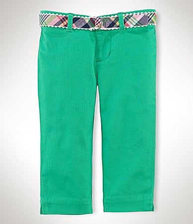 Ralph Lauren Childrenswear 2T-6X Chino Capri Pants