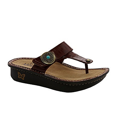 Alegria Carina Leather Sandals