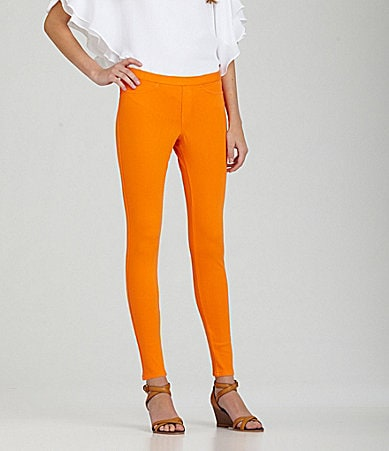 HUE Denim Color Leggings