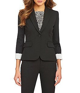 Gianni Bini Annie Single-Button Jacket Image