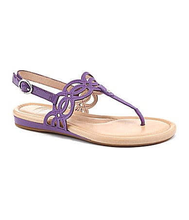 Nurture Seashell T-Strap Sandals