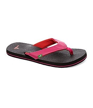 Sanuk Yoga Mat Girls´ Flip Flop Sandals