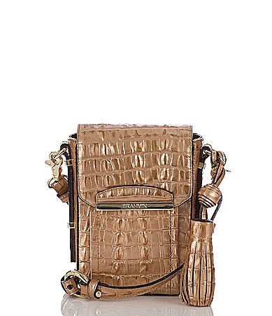 Brahmin La Scala Collection Sloane Camera Cross-Body Bag