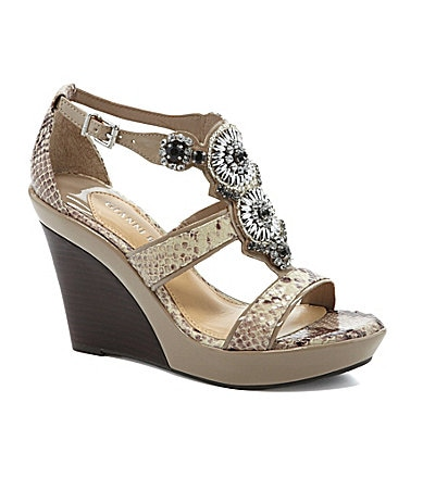 Gianni Bini Rio Wedge Sandals