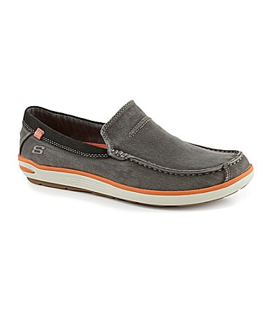 Skechers Men�s Relaxed Fit: Spencer Slip-On Sneakers
