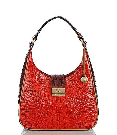 Brahmin Tri-Color Collection Quinn Hobo Bag