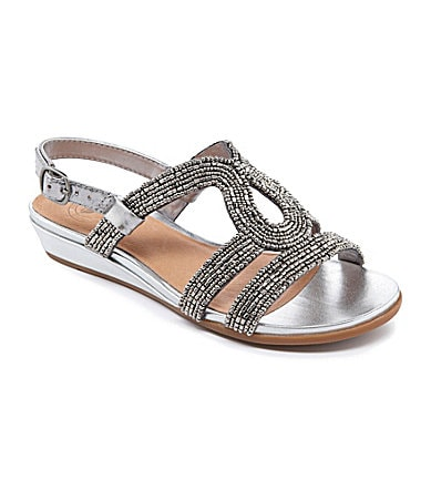 Nurture Beam Beaded Sandals