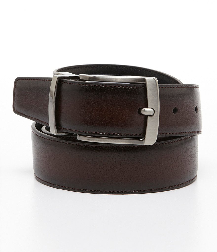 Roundtree & Yorke Burnish Edge Reversible Belt