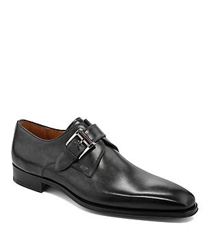 Magnanni Marco Leather Buckle Dress Loafers